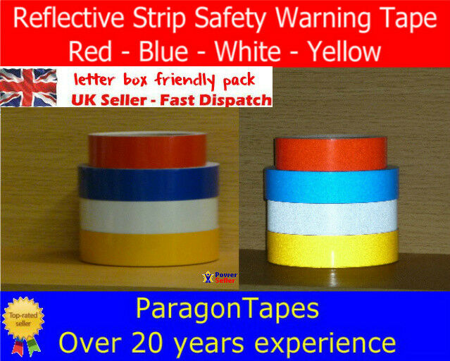 Smooth Reflective Safety Caution Tape Tape Tape Bike Frame Red Blue Yellow White 8ea85c