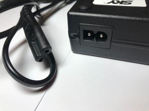 REGNO Unito di ricambio per 12V 6.7A 80W AC-DC Adattatore Alimentazione 5.5mm x 2.1mm//2.5mm