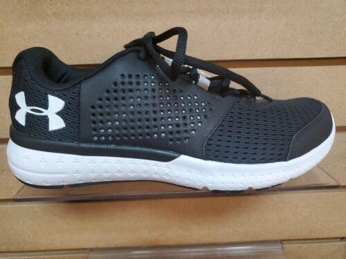 1285670 Mens Under Armour Micro Fuel Mens Athletic Shoe Black//White
