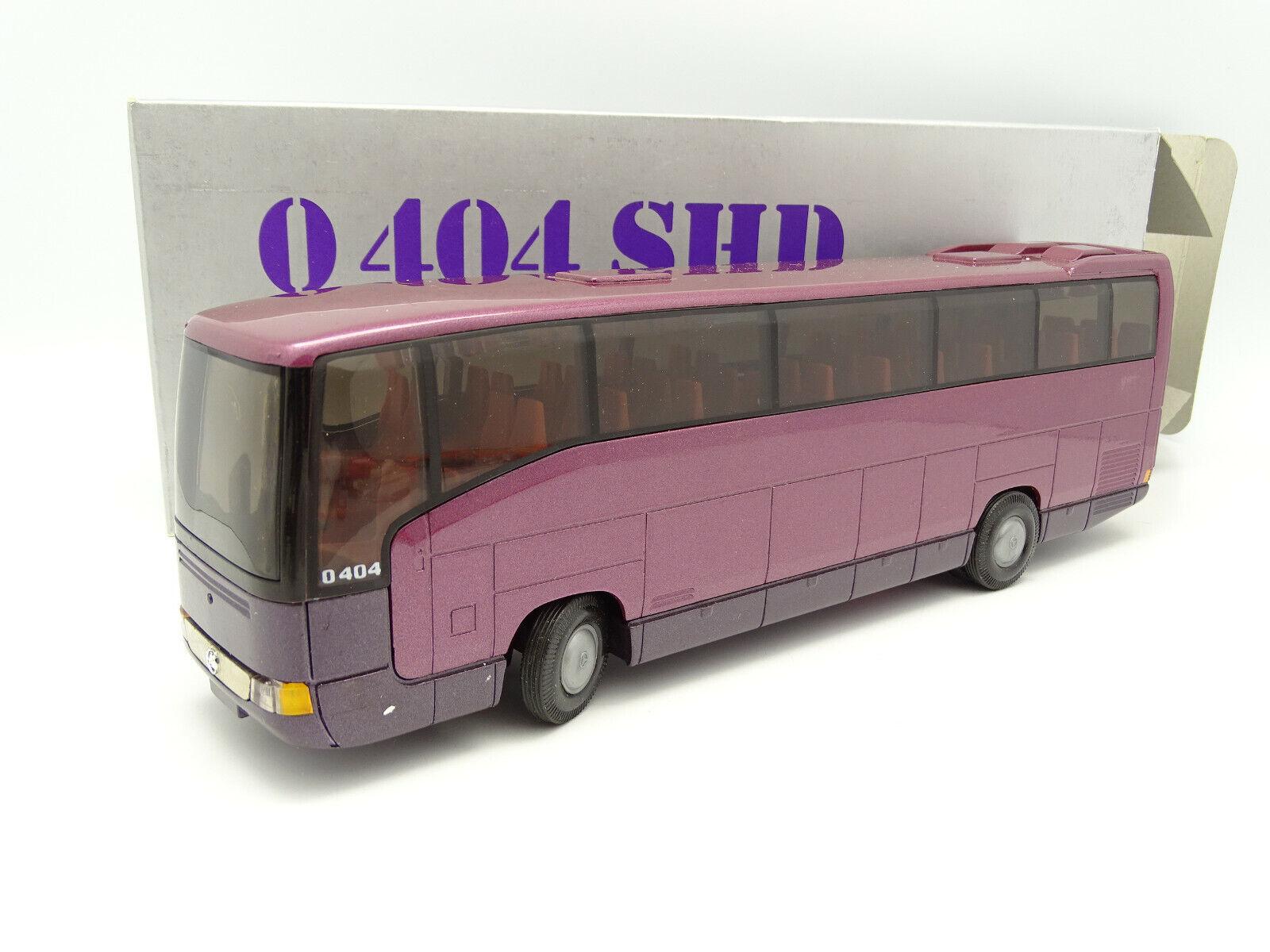 NZG 1  43 - Bus Autobus Mercedes O404 SHD Mauve  est réduit