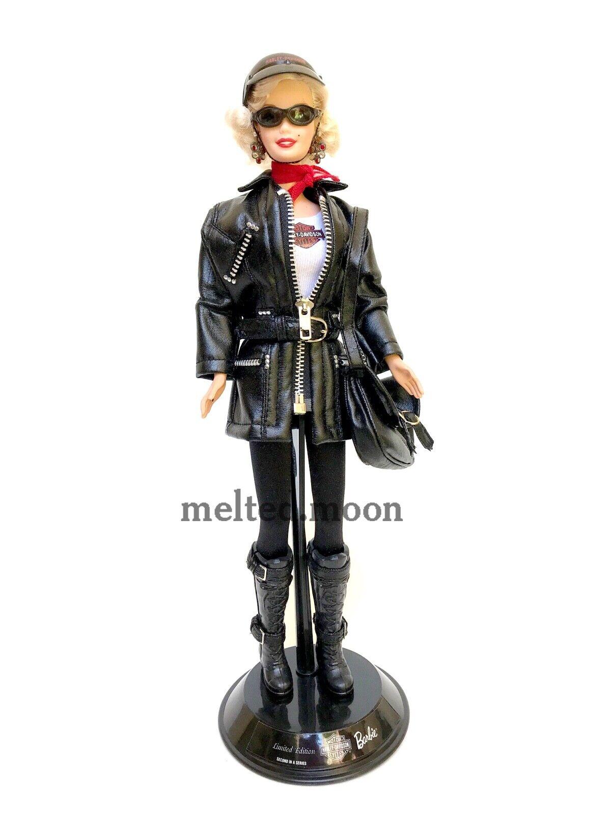 Marilyn Monroe Barbie Doll as Harley Davidson Biker OOAK Celebrity rotress Loose
