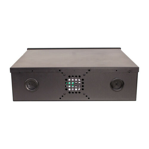 "NVR Lock Box 18/"" x 18/"" x 5/"" Security DVR Lock Box with Fan"