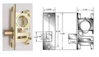 Ll01 Bottom Rail Lock For Store Front Herculite Glass Doors,1-7/8 Ll03 Rnd Bolt