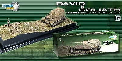 David & Goliath Elefant & rouge Army Anti-tank Rifleman 1 72 Plastic Model Kit
