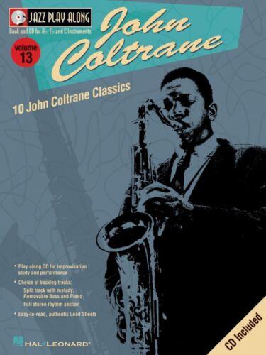 John Coltrane Jazz Play Along Book and CD NEW 000843006