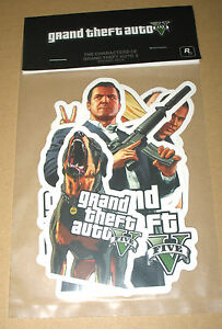 "GTA V 5 Grand Theft Auto Promo Sticker Set / Aufkleber ""The Characters of GTA V"" - Braunschweig, Deutschland - GTA V 5 Grand Theft Auto Promo Sticker Set / Aufkleber ""The Characters of GTA V"" - Braunschweig, Deutschland"