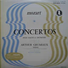 "Grumiaux/Moralt: Mozart Violin Concerti 3 & 4 - Philips A 00.119 L ""Jubilee"" Ed."
