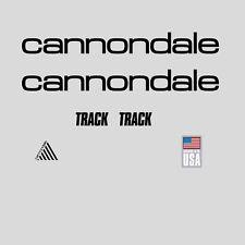 CANNONDALE Track Bicicletta Telaio Adesivi-Decalcomanie-trasferimenti: Nero. n.12