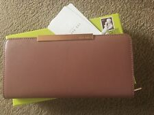 0e118e4b8ef5 item 7 TED BAKER mid pink leather pelle Zip Around Purse NEW in box -TED  BAKER mid pink leather pelle Zip Around Purse NEW in box