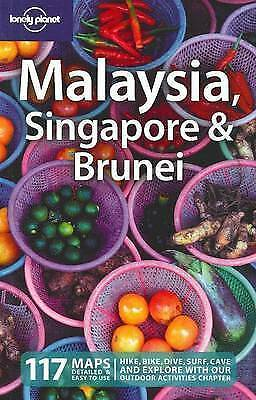 Lonely Planet Malaysia Singapore & Brunei 117 Detailed Maps Easy to Use Revised