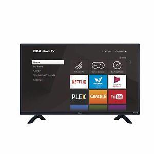 """RCA 43"""" Class FHD (1080P) Roku Smart LED TV (RTR4361)"""