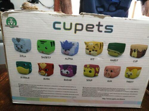 Cupets Serie Completa Free App Giochi Preziosi Nuovo Sigillato