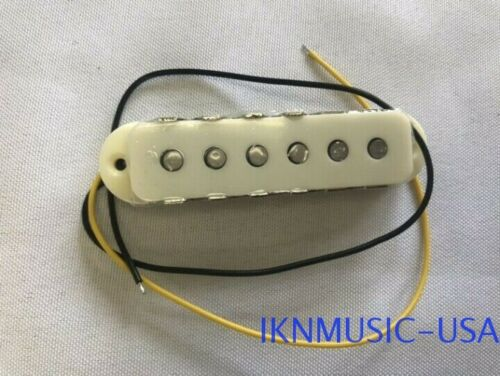 Aged White 1PC Jaguar Vintage Style Single-Coil Neck Guitar Pickup