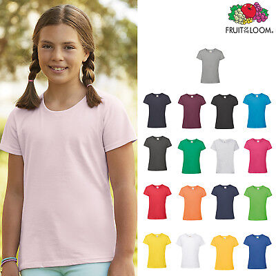 Sunflower 7-8 Anni Manufacturer Size:30 Fruit of the Loom T-Shirt Bambino Giallo