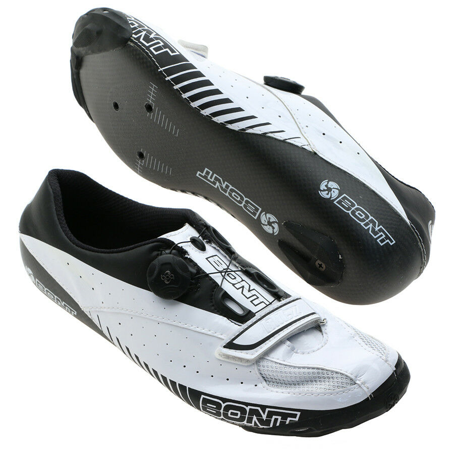 Bont Blitz Road Cycling shoes White Size 37   5 Moldable Carbon NEW Other