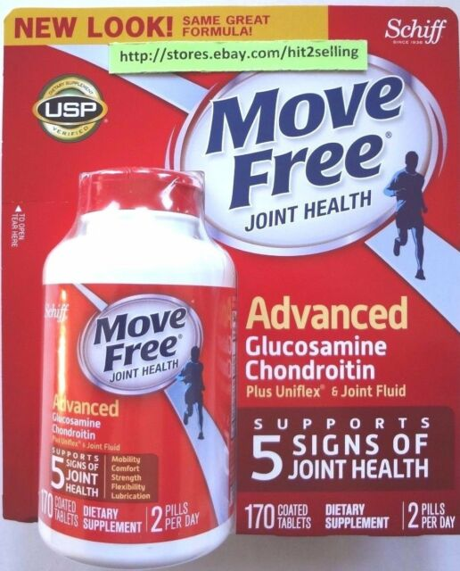 200 Tab. Schiff Move Free Exp 06/2019 Joint Advanced Triple Strength Worldwide