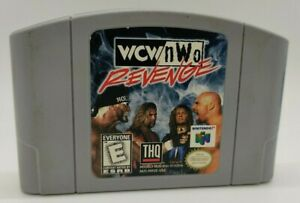 World Championship Wrestling/NWO venganza (N64, Nintendo 64) cartucho sólo Video Juego