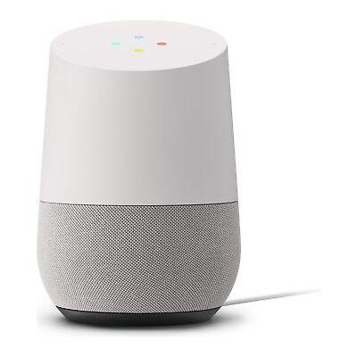 Brand New Google Home Smart Speaker Digital Media Streamer - White/Slate Grey