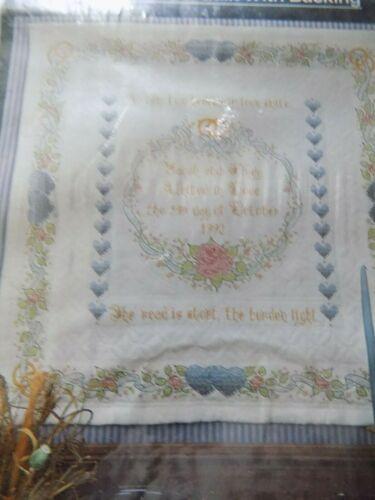 WonderArt Anniversary Wedding wall quilt #9104