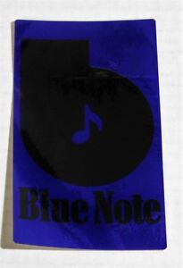 Blue-Note-Records-Original-1973-PROMO-Vinyl-Sticker-NEW-UNUSED