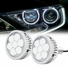 3 Led 40w Laser Projector Headlight High Beam Lens White Devil Eyes Retrofit Fits More Than One Vehicle