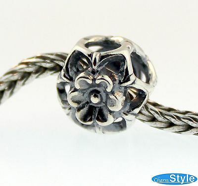 100% Authentic Sterling Silver Trollbeads 11339 Zucchini Flower