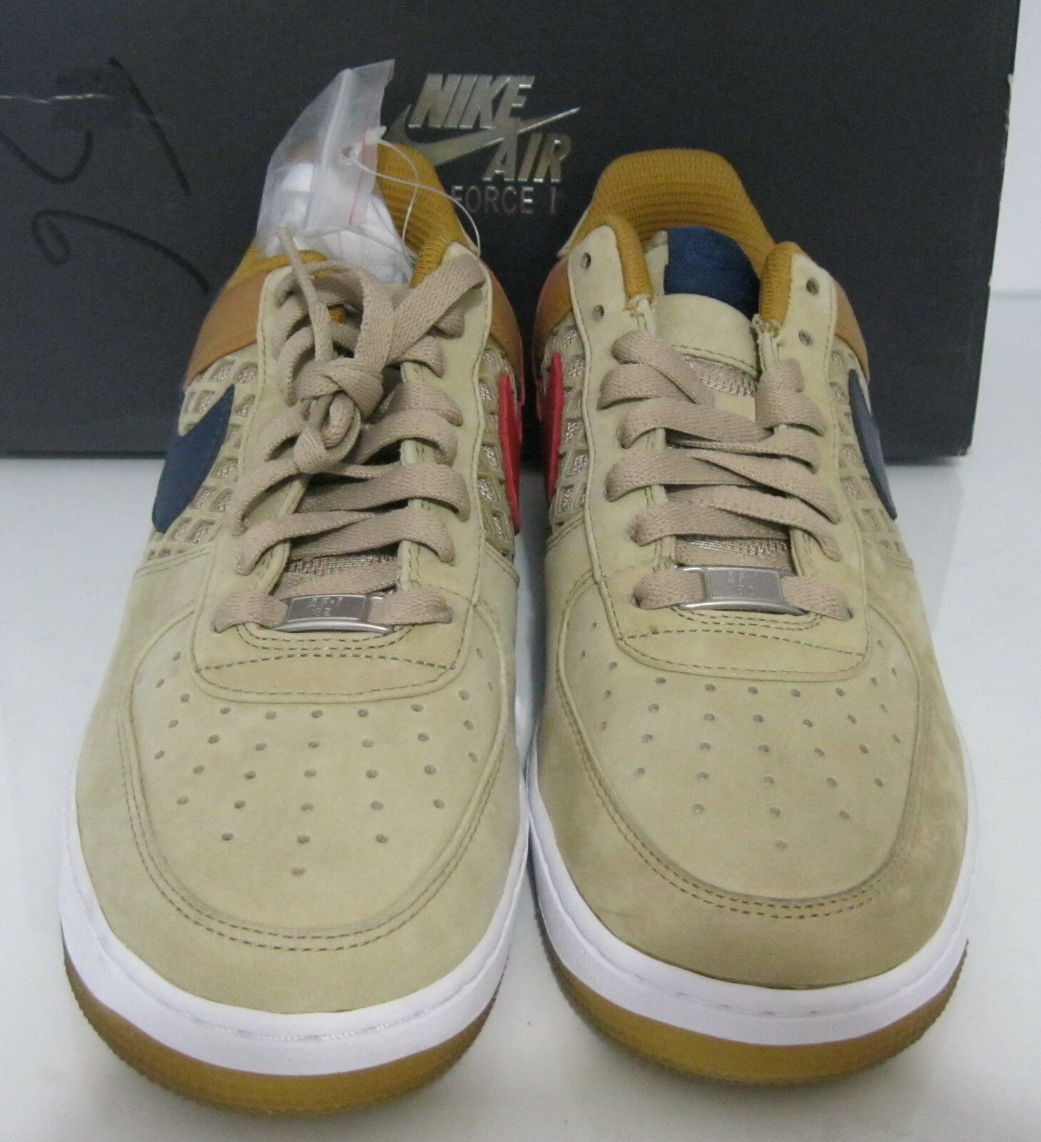 detailed pictures 5fa1c 8ac3b ... Neuf Nike Air Force Force Force 1 318775 241 Baskets Taille 8 f75ca6 ...