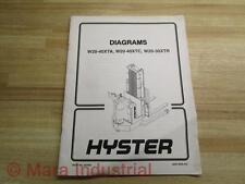 Hyster 89781 Diagram For W20-40XTA, W20-40XTC, W20-30XTR - Used