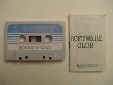 SOFTWARE CLUB SPIELE MC d C64 C128 VC20 C16/ +4 Philips MSX Sinclair ZX Spectrum