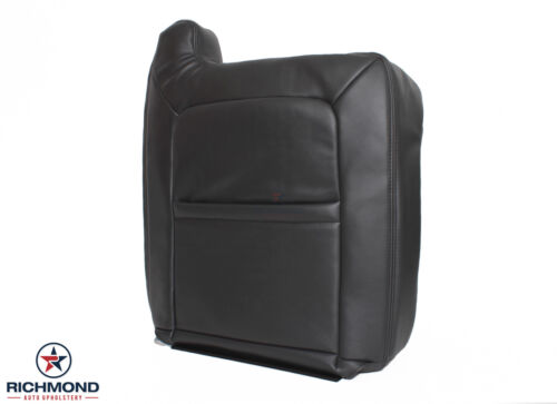 Driver Side LEAN BACK Leather Seat Cover DARK GRAY 2003 2004 Chevy Avalanche LT