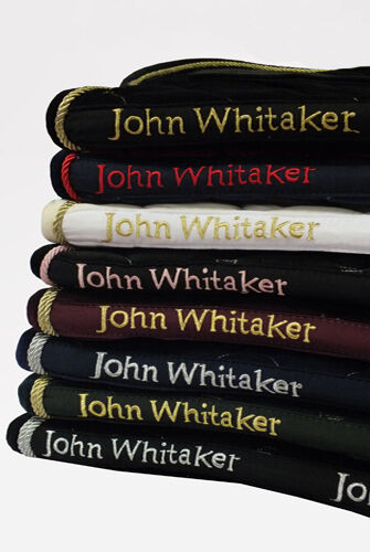 John Whitaker Metallic Saddle Cloth, Pony Cob Size