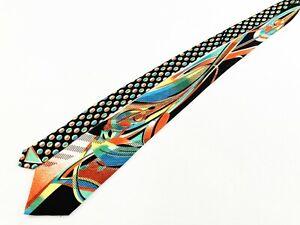 Vitaliano-Pancaldi-Italy-Handmade-100-Silk-Abstract-Jacquard-Tie-Necktie-4-034