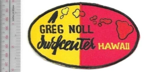 Vintage Surfing Hawaii Greg Noll Surfboards 1967 era V-Wedge Promo Patch
