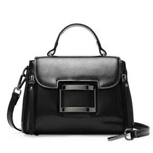 0aa21d1420 Fashion Women s Genuine Real Cow Leather Shoulder Bag Handbag Purse ...
