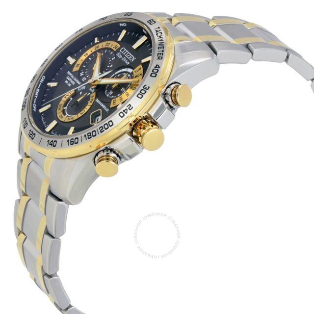Citizen Eco Drive At4004 52e Wrist Watch For Men Ebay