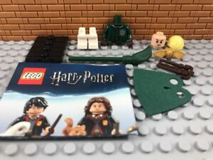 New LEGO Minifigure Harry Potter Series Draco Malfoy Quidditch Minifigure