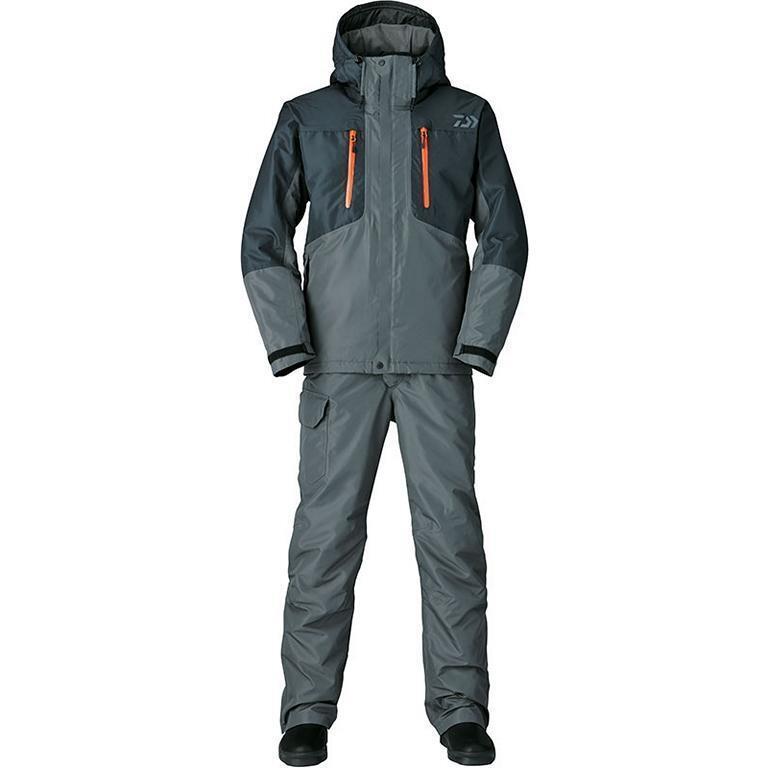 DAIWA RAINMAX inverno Suit dw-3205 NGT Tg. XXXXL inverno tuta thermoanzug 2 pezzi