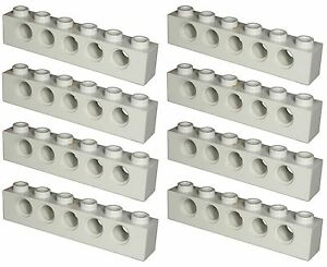 Missing Lego Brick 3894 Yellow x 8 Technic Brick 1 x 6 with Holes
