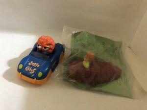 X2 giocattolo vintage da collezione figure ~ 2000 Burger King Jaffa torta MAN & NEW Other