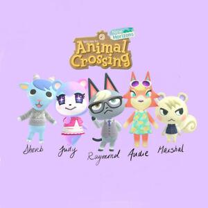 Rare Villagers Animal Crossing Raymond And More W Bonus Gift Ebay