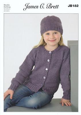 Double Knitting Pattern Femmes Câble Pull /& Pull James Brett DK JB393