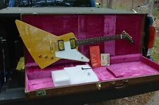 1998 GIBSON HISTORIC 1958 REISSUE EXPLORER KORINA W/OHSC AND ALL TAGS
