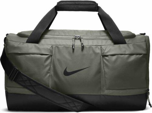 Nike Vapor Power Duffel Bag Stucco Olive Green Black BA5543-004 Gym Sport Travel