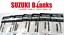 "SUZUKI BLANK RXF-20lb-862 8/'6/"" 2pc Luxury Rod blank JAPAN Fast Action"