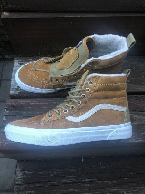 VANS SK8 HI MTE Cumin Slate Green All Weather SKATE Shoes MENS Size 9 NEW