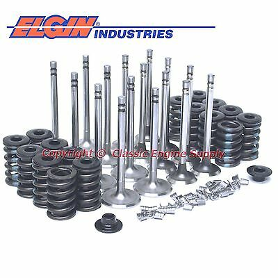 "New Z28 Springs, 1.72"" Intake & 1.5"" Exhaust Valve Set Chevy 400 350 327 305 283"