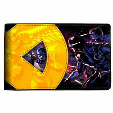 X-Men Applique Yellow Logo Bi-Fold Wallet NEW Accessories Money Holder