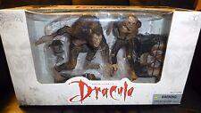 BRAM STOKER'S DRACULA Movie Maniacs Wolf/Bat 2-Action Figure Set McFarlane Toys
