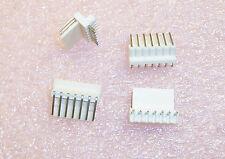 Qty 100 22 05 1072 Molex 7 Pin Right Angle Friction Lock Headers