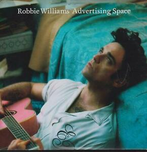 Robbie Williams cds Advertising space  (b)